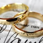 Ritual de pareja con un anillo