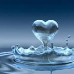 Hechizo de amor con vaso con agua